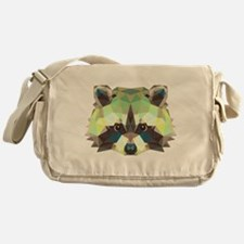 Racoon Messenger Bag