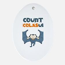 Count Nicolasula Oval Ornament