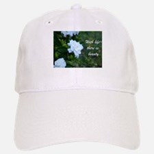 Meaningful Gardenia Flower Quote Baseball Baseball Cap