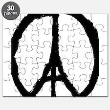 paris peace eiffel tower Puzzle
