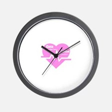 Cute enough to stop your heart Wall Clock