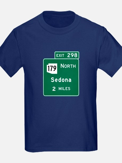 Sedona, AZ Road Sign, USA T