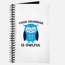 Your Grammar Is Owlful Journal