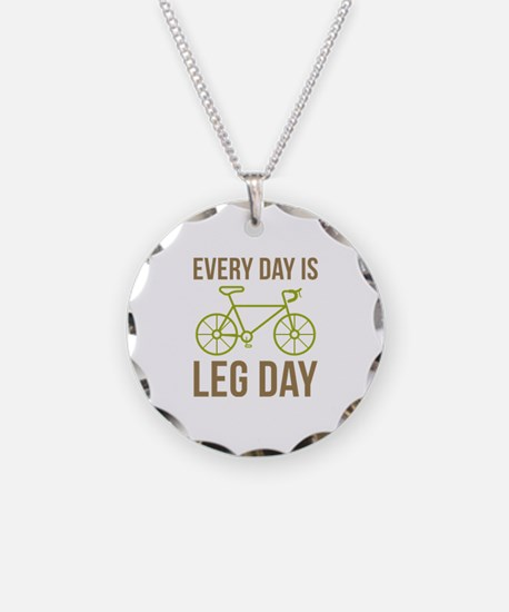 Every Day Is Leg Day Necklace