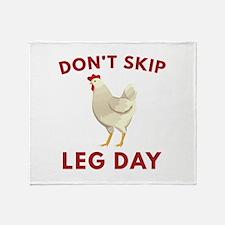 Don't Skip Leg Day Stadium Blanket