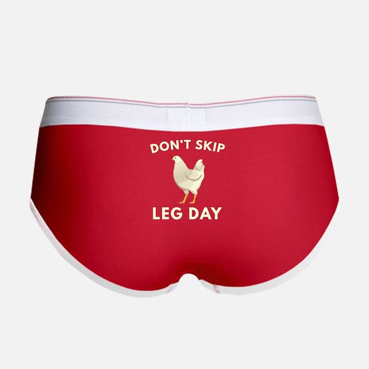 Don't Skip Leg Day Women's Boy Brief