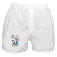 Never Skip Leg Day Boxer Shorts