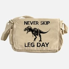 Never Skip Leg Day Messenger Bag