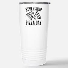 Never Skip Pizza Day Ceramic Travel Mug
