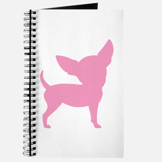 Pink Funny Cute Chihuahua Journal