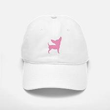 Pink Funny Cute Chihuahua Baseball Baseball Cap