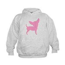 Pink Funny Cute Chihuahua Hoodie