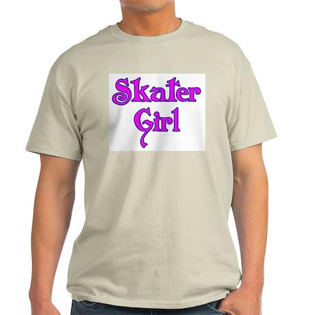 Skater Girl Ash Grey T-Shirt