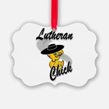 Lutheran Chick #4 Ornament