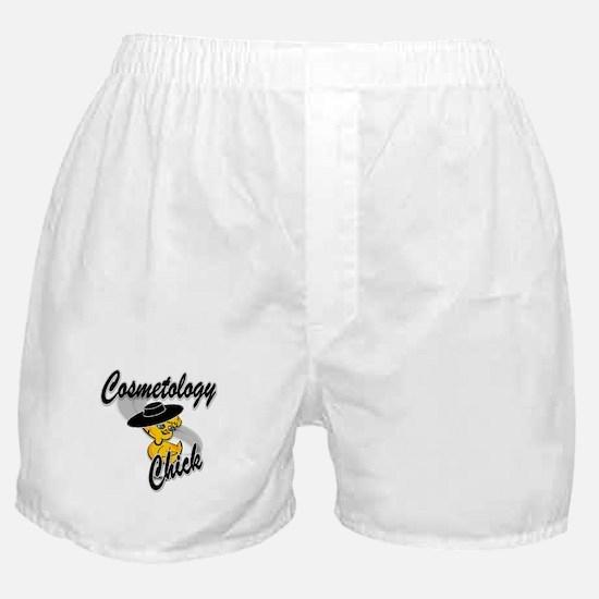 Cosmetology Chick #4 Boxer Shorts