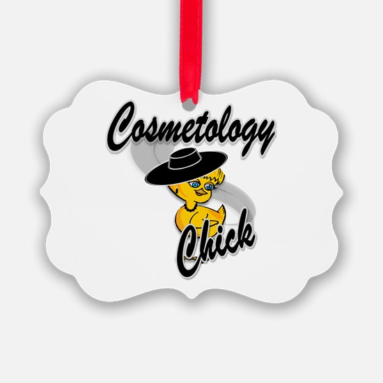 Cosmetology Chick #4 Ornament