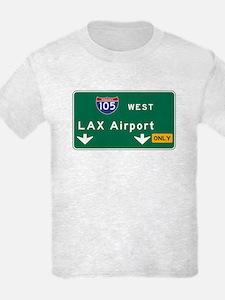 LAX Airport, Los Angeles, CA Ro T-Shirt