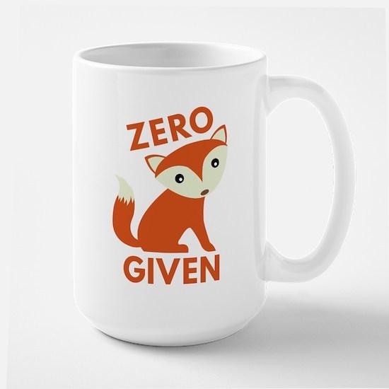 Zero Fox Given Large Mug