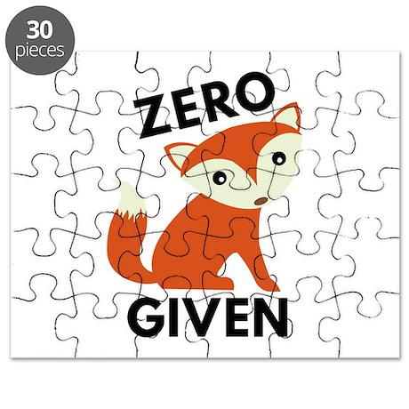 Zero Fox Given Puzzle by VectorPlanet