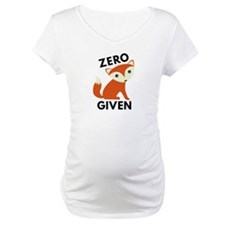 Zero Fox Given Shirt