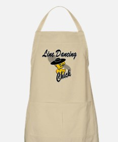 Line Dancing Chick #4 Apron