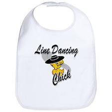 Line Dancing Chick #4 Bib