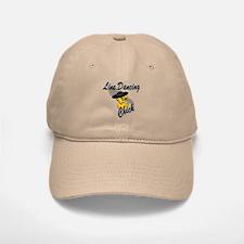 Line Dancing Chick #4 Baseball Baseball Cap