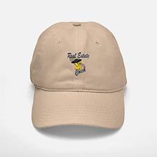 Real Estate Chick #4 Baseball Baseball Cap