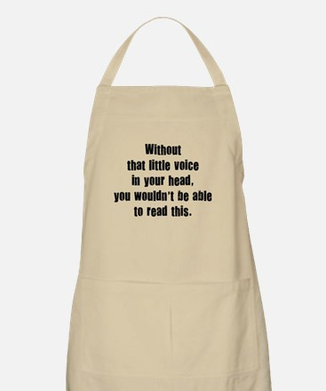 Little Voice In Your Head Apron