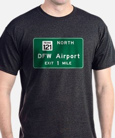 DFW Airport, Dallas-Fort Worth, TX Ro T-Shirt