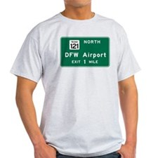 DFW Airport, Dallas-Fort Worth, TX R T-Shirt