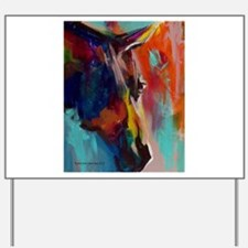 Graffiti This, Horse Abstract Pop Art Pa Yard Sign
