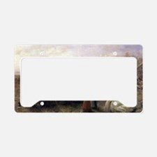 Cute Thanksgiving dinner License Plate Holder
