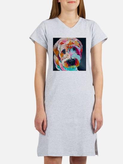 Wheaten Terrier Kirby Jane Women's Nightshirt