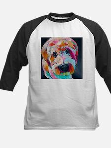 Wheaten Terrier Kirby Jane Baseball Jersey