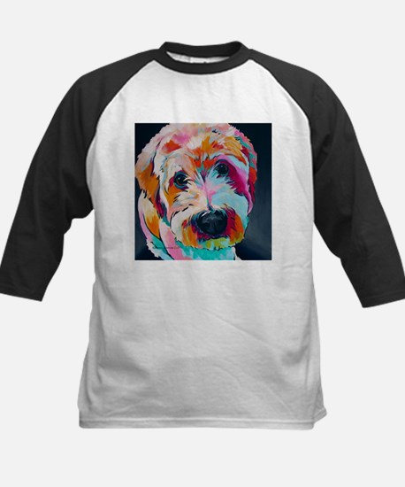 Wheaten Terrier Kirby Jane Baseball Jersey