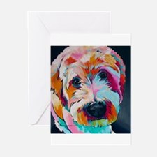 Wheaten Terrier Kirby Jane Greeting Cards