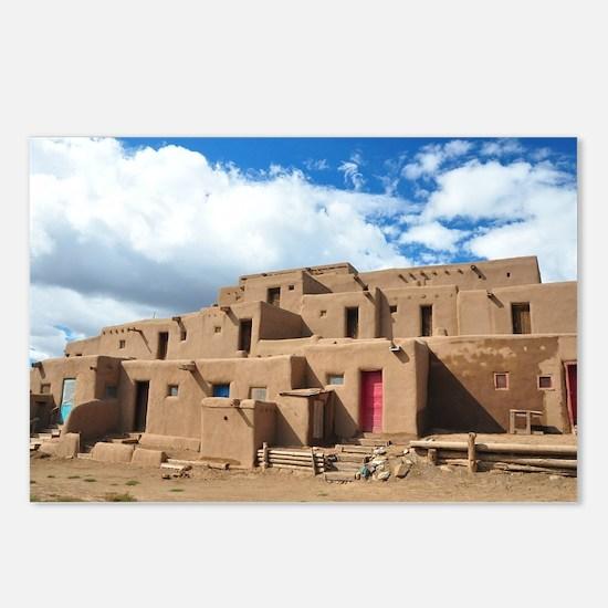 Taos Pueblo Postcards (Package of 8)