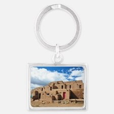 Taos Pueblo Keychains