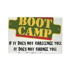 Funny Boot camp Rectangle Magnet (10 pack)