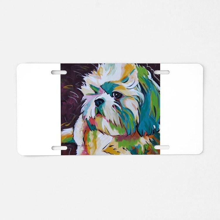 Shih Tzu - Grady Aluminum License Plate