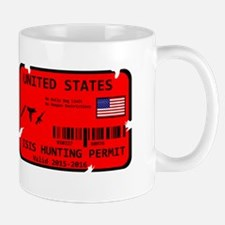 Isis Hunting Permit Mugs
