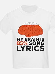 Funny Song lyrics T-Shirt