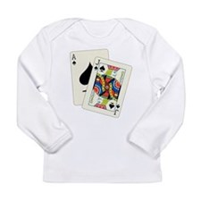 Cute Blackjack Long Sleeve Infant T-Shirt
