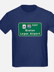 Boston Logan Airport, MA Road Si T
