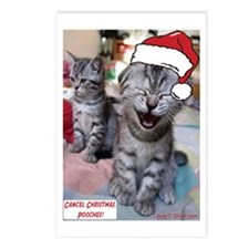Cancel Christmas, Pooches Postcards (Package of 8)