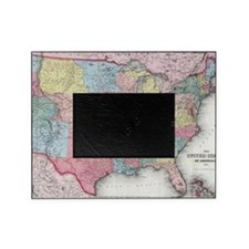 Cute Us map Picture Frame