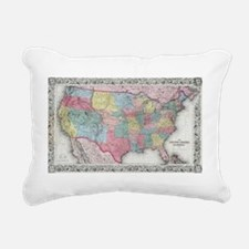 Funny Us history Rectangular Canvas Pillow