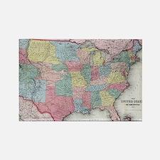 Unique United states Rectangle Magnet
