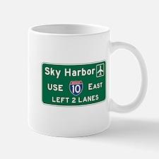 Sky Harbor, Phoenix Airport, AZ Road Si Mug